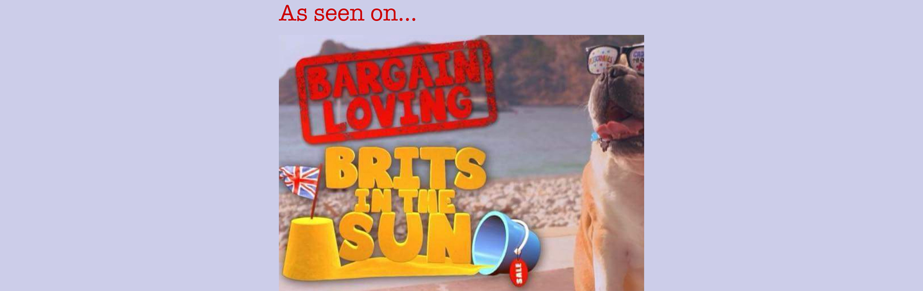 As seen on Bargain Loving Brits in the Sun